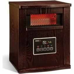 Soleil Electric Infrared Quartz Cabinet Heater with Remote 1