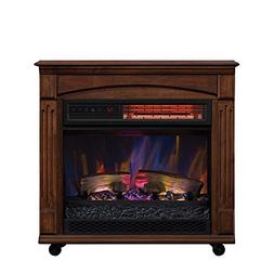 ChimneyFree Electric Infrared Quartz Fireplace with Remote,