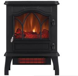 ChimneyFree Electric Infrared Quartz Stove Heater, 5,200 BTU