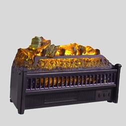 ElectricLogBurner Fireplace withRemote Control Large D