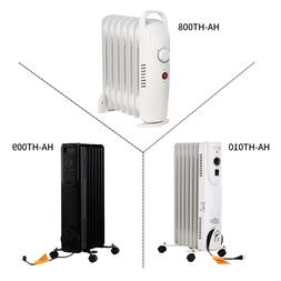 KOOLWOOM Electric Oil Filled Radiator Space Heater 700W/1500