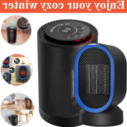 Electric Portable CERAMIC Space Heater 1200 Watt Small Compa
