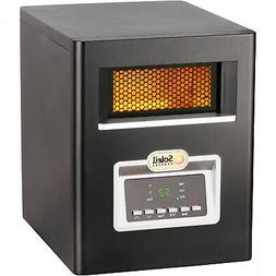 Electric Portable Compact Infrared Cabinet Space Heater Remo