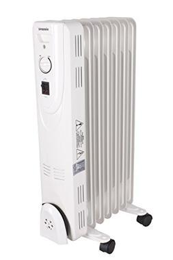 Viasonic 1500W Electric Portable Oil Filled Radiator Heater