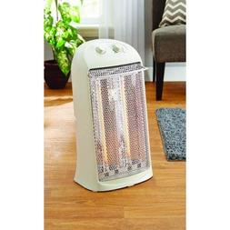 Mainstays Electric Quartz Heater with Thermostat, White, HQ-