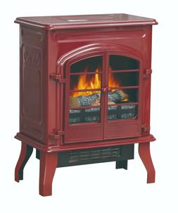 Electric Space Heater Fireplace Flame Stove Free Standing Ho