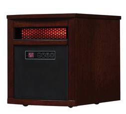 ELECTRIC SPACE HEATER INFRARED 1500W Portable with Remote Co