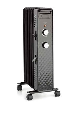 Electric Space Heater Mechanical Oil Filled Radiator 1500W P