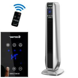 Electric Space Heater Portable Tower Heater Remote Control E