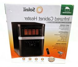 Electric Space Heater Soleil Quartz Portable Infrared PH91K