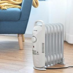 Electric Space Heater Small Portable Oil Filled Room Radiato