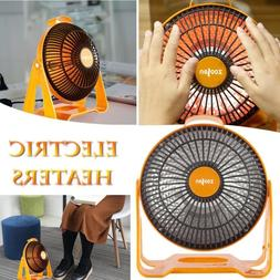 Electric Table Fan Solar Heater Fast Air Warmer Ceramic Spac