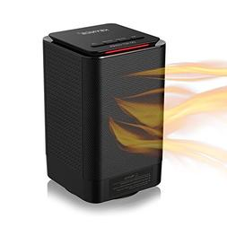 KEYNICE Electric Space Heater 950/450W 5-inch Portable Ceram