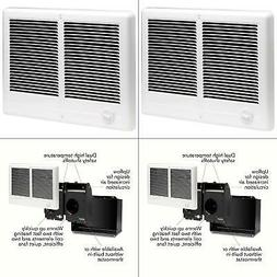 Cadet 3000-Watt Electric High Wall Heater Kit with Wall Ther