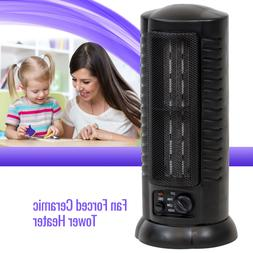 Fan Forced Oscillating Ceramic Space Heater Tower Home Offic