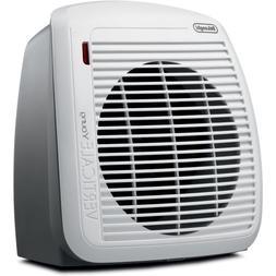 DeLonghi 1500-Watt Fan Heater, Features 2 Heat Settings with