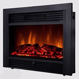 "Alek...Shop 28.5"" Fireplace Electric Insert Heater Embedded"