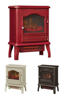 Freestanding Fireplace Infrared Quartz Electric Heat Stove S