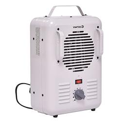 """GHP Home White 9.5"""" Lx5.1 Wx14.5 H 120V Lightweight Space He"""