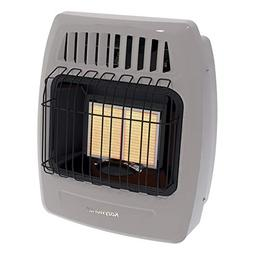 Kozy World Dual Gas Fuel Wall Heater Model KWD215, Vent Free