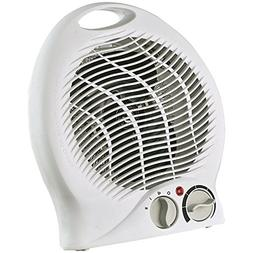 Optimus H-1322 Portable 2-speed Fan Heater with Thermostat,
