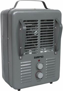 Optimus H3013 Grey Portable Utility Heater with Thermostat