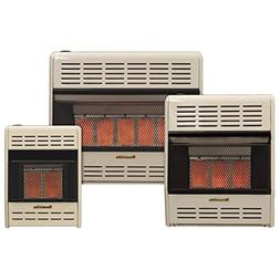 Hearthrite Vent-Free Infrared Gas Heater, Thermostat, Natura
