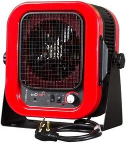 Heater Electric Space Portable Heating Garage Fan 5,000 Watt