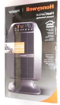 Honeywell HeatGenius 1,500 Watts Ceramic Space Heater, Black