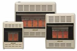 HeathRite Vent-Free Radiant Heater LP 25000 BTU, Manual Cont