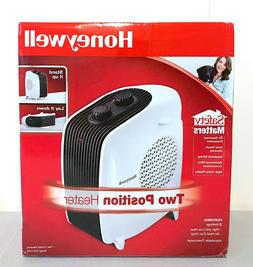 Honeywell HHF175W Dual Position Electric Space Heater, White