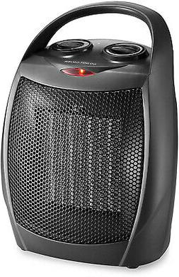 HOME_CHOICE Small Ceramic Space Heater Quiet Electric Portab