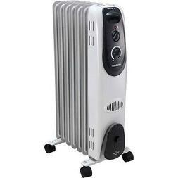 Pelonis Home Electric Radiator Portable Heater Adjustable Wa