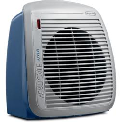 DeLonghi HVY1030BL 1500-Watt Fan Heater - Blue with Gray Fac