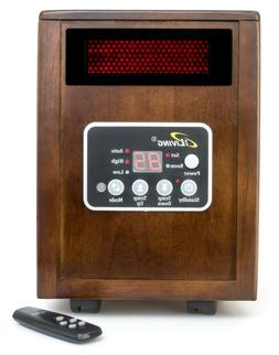 iLIVING Infrared Portable Space Heater with Dual Heating Sys