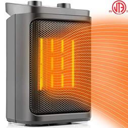 Space Heater Electric Heater Portable PTC Ceramic Heater wit