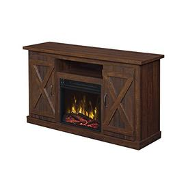 Industrial 48'' TV Stand - Antique Rustic Look - Electric Fi