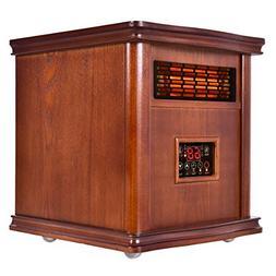 1800 Sq. Ft Infrared Electric Portable 1500W Heater Quartz H