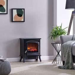 Bold Flame Infrared Electric Space Heater, Black Top Quality