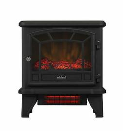 Infrared Fireplace Electric Stove Standing Space Heater with