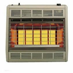 Empire Infrared Heater Natural Gas 30000 BTU, Manual Control