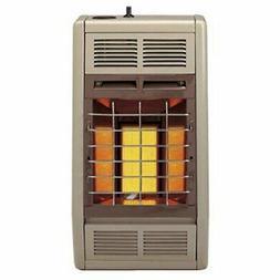 Empire Infrared Heater Liquid Propane 10000 BTU, Thermostati