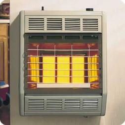 Empire Infrared Heater Liquid Propane 18000 BTU, Manual Cont