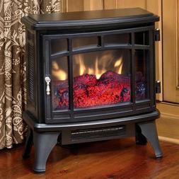 Duraflame Electric Infrared Quartz Fireplace Stove, Black