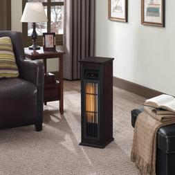 ChimneyFree Infrared Quartz Heater, Dark Espresso
