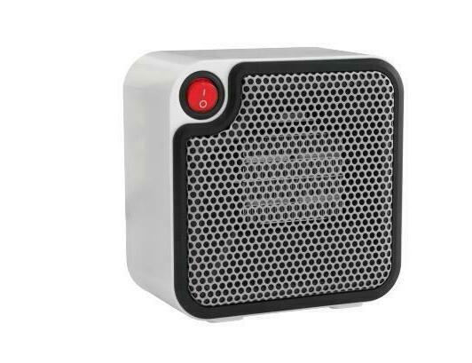 1 mini ceramic personal space heater electric