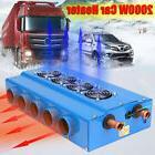 10 Hole 2000W Portable Car Space Heating Heater Fan Defroste
