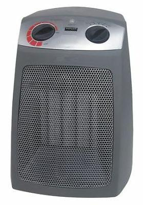 DAYTON 1VNW9 Electric Space Heater, 1500/1000/650, 120VAC, 1