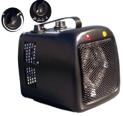 1500 1000w electric space heater fan forced 120v