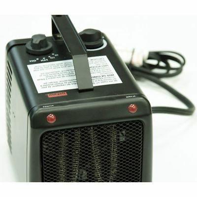 DAYTON Portable Electric Heater, 1500W/1000W, Phase